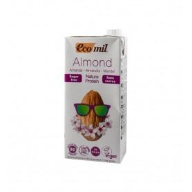 ECOMIL – Bautura BIO de migdale natur protein, fara zahar, 1L