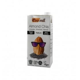 ECOMIL – Bautura BIO de migdale cu chia, fara zahar, 1L