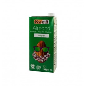 ECOMIL – Bautura BIO de migdale original indulcita cu sirop de agave, 1L