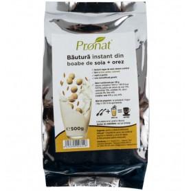 Bautura instant din boabe de soia + orez, 500g