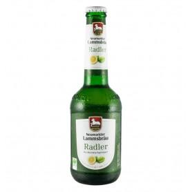 NEUMARKTER LAMMSBRAU - Bere Radler Bio cu lamaie, 2.5% alcool - 0,33L