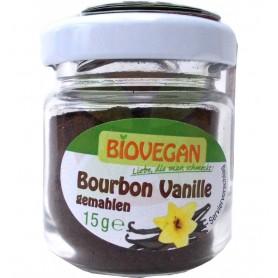 Biovegan - Vanilie Bourbon Bio macinata, 15 G