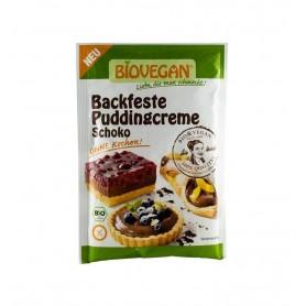 BIOVEGAN – Crema bio solida pentru budinca de ciocolata, 55 g