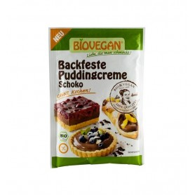 Crema bio solida pentru budinca de ciocolata, 55 g Biovegan