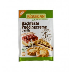 Crema Bio solida pentru budinca de vanilie, 50 g Biovegan