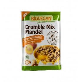 BIOVEGAN – Amestec bio de migdale maruntite, 124 g