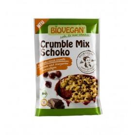 BIOVEGAN – Amestec bio de ciocolata maruntita, 135 g