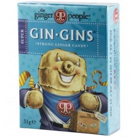Bomboane cu Gust Intens de Ghimbir, 31g Gin Gins