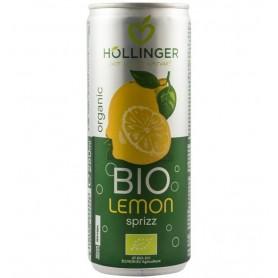 Suc de lamaie Bio Hollinger, 250 ml, Carbogazos