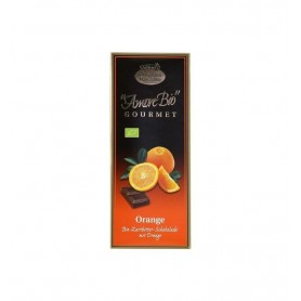 LIEBHART'S AMORE BIO – Ciocolata amaruie cu portocale, 55% cacao, 100 g