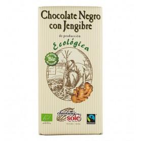 Ciocolata Neagra Bio cu Ghimbir, 56% Cacao, 100 g Chocolates Sole
