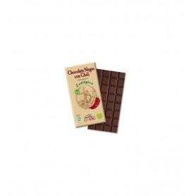 Ciocolata neagra BIO cu chili, 73% cacao, Chocolate Sole, 100 g