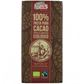 Ciocolata Neagra Bio, 100% Cacao, 100 g Chocolates Sole