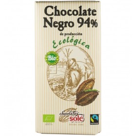 Chocolates Sole – Ciocolata neagra BIO si fairtrade 94% cacao, 100g