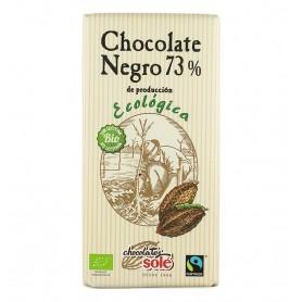 Ciocolata neagra BIO 73% cacao Chocolates Sole 100 gr