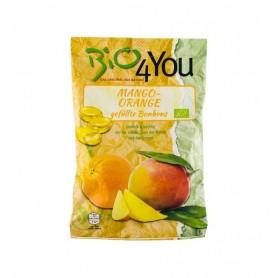 BIO 4 YOU – Dropsuri bio cu mango si portocale 75gr