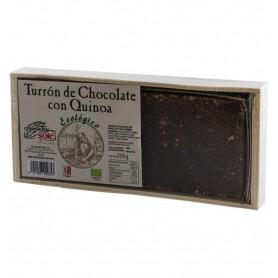Chocolates Sole – Ciocolata BIO Turron cu quinoa, (minim 30% continut de cacao) 200 g