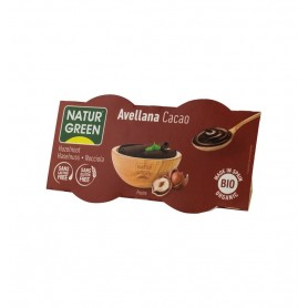 Desert Bio cu Alune si Cacao, 2X125g Natur Green