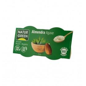 NATUR GREEN – DESERT BIO CU MIGDALE SI AGAVE, 2X125 G