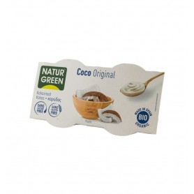 NATUR GREEN – DESERT BIO CU NUCA DE COCOS, 2X125 G