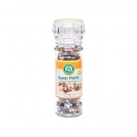 Lebensbaum - Amestec de boabe de piper BIO, cu rasnita, 45g