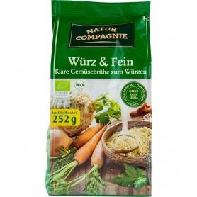Natur Compagnie - Amestec bio - baza pentru mancaruri si supe, 252g