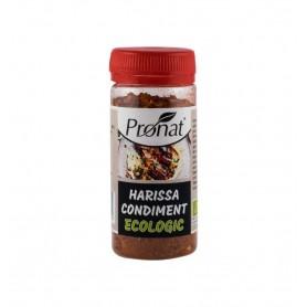 Harissa condiment BIO, 50g