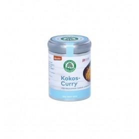 Amestec de Condimente Bio Cocos - Curry, 65g Lebensbaum