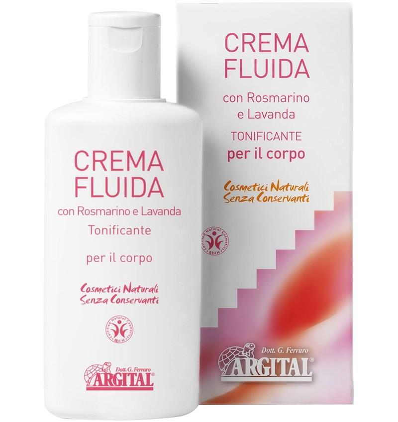 ARGITAL - Crema de corp lichida cu lavanda si rozmarin, 200 ml