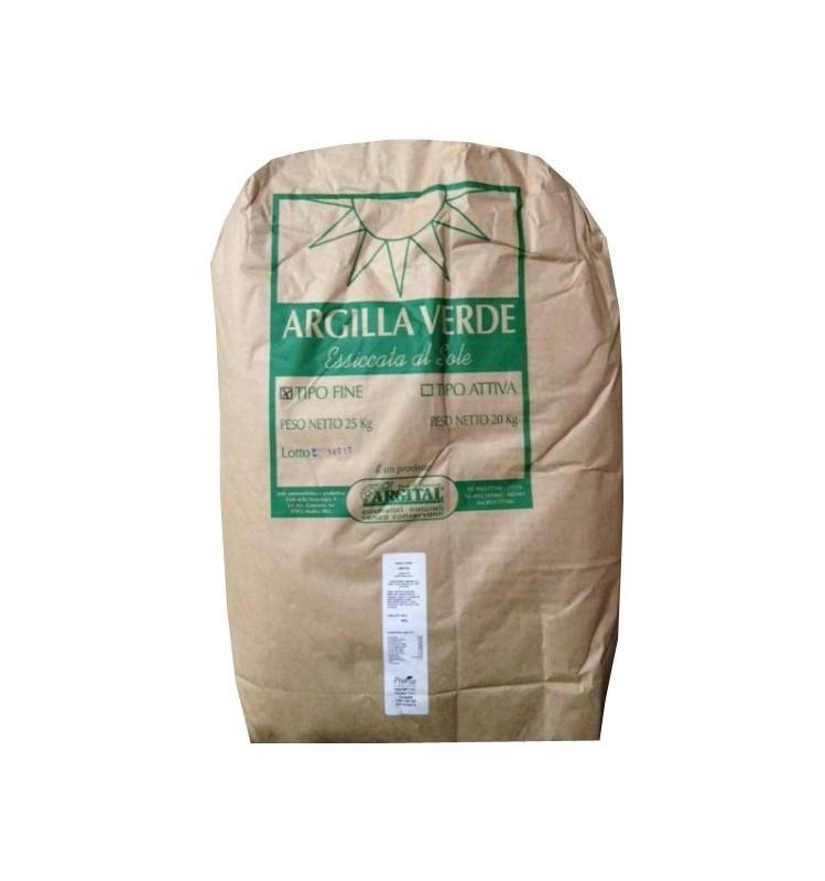 ARGITAL - Argila verde activa, pentru uz intern, 20 kg