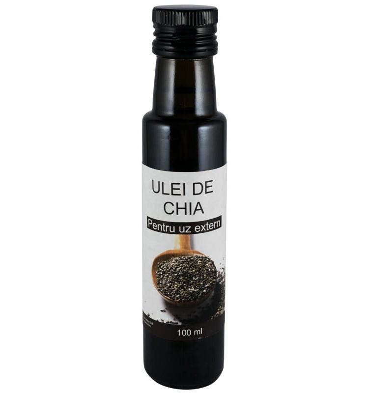 Ulei din seminte de chia macerat, 100 ml