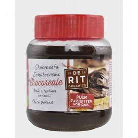 CHOCOREALE – De Rit -Crema BIO de ciocolata neagra, 350 g