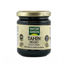 NATUR GREEN – TAHIN NEGRU BIO, 180G