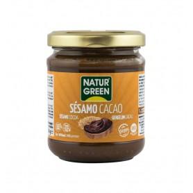 NATUR GREEN – PASTA BIO DE SUSAN CU CACAO, 200G