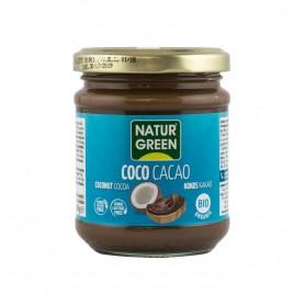 Pasta Bio de Cocos cu Cacao Natur Green - 200 g