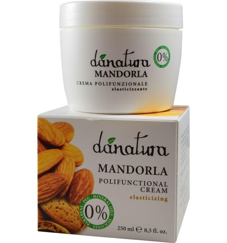Danatura - Crema polifunctionala cu ulei de migdale, 250ml