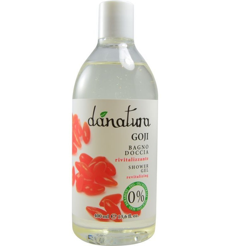 Danatura - Gel de dus cu goji, 400ml