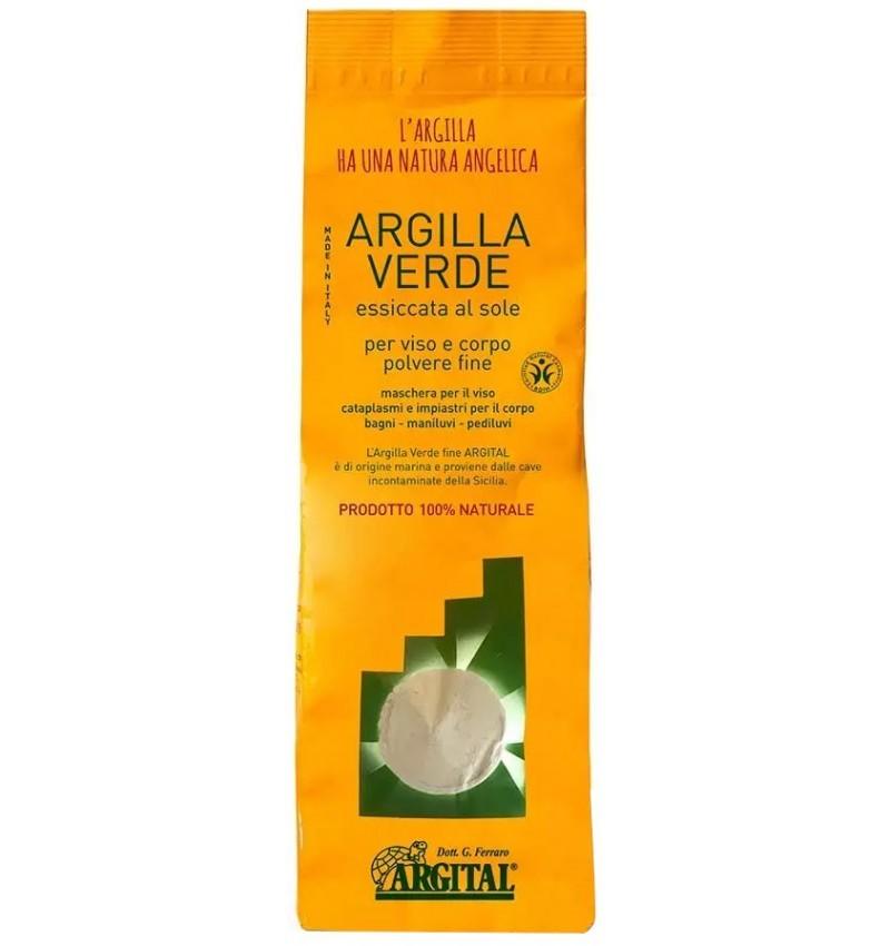 ARGITAL - Argila verde pentru uz extern - pulbere fina 2,5 kg