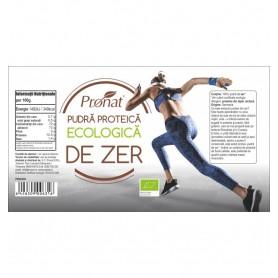 Pudra proteica de zer Bio, 250 g
