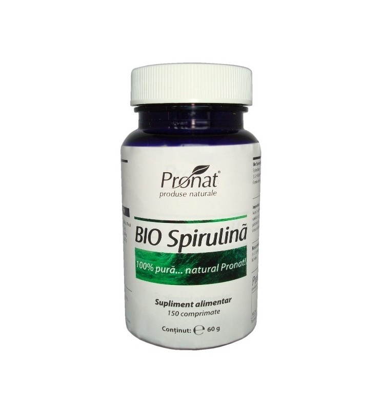bio spirulina 150 comprimate