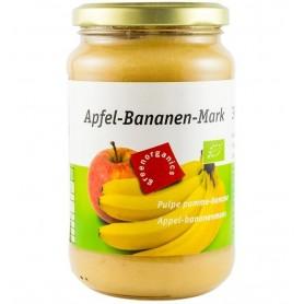Green Organics - Piure BIO din pulpa de mere si banane – 360g