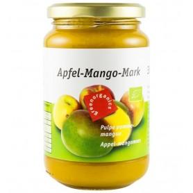 Green Organics - Piure BIO din pulpa de mere si mango – 360g