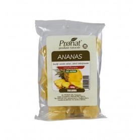 Ananas bucati uscate, 100 gr