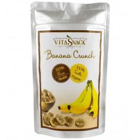 VITASNACK – Felii banane crocante bio, 28g