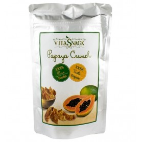 VITASNACK – Felii papaya crocante bio, 24g