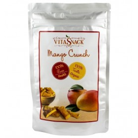 VITASNACK – Felii mango crocante bio, 26g