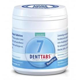 DENTTABS – Tablete pentru curatarea dintilor cu menta si stevie, fara fluor – 125 tablete