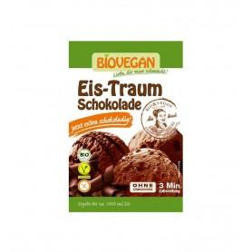 BIOVEGAN - Inghetata (praf) vis de ciocolata Bio, 89 g