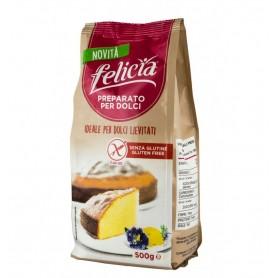 FELICIA – Premix fara gluten pentru prajituri, 500g