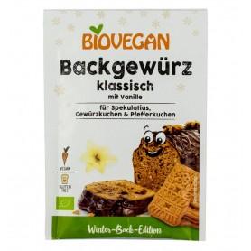 Biovegan – Condiment BIO classic pentru prajituri, cu vanilie, 15g